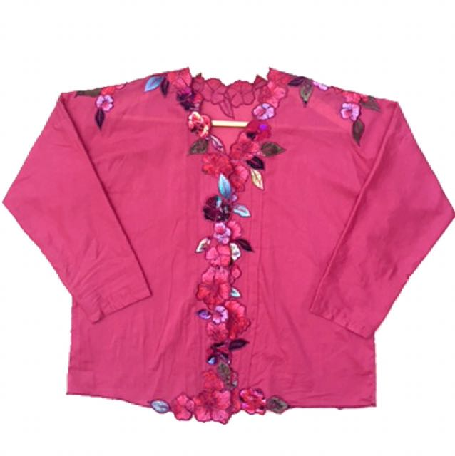 Casual Blouse Bordir