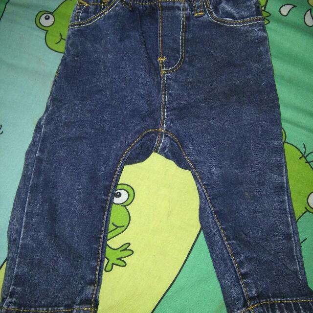 Celana Jeans Merk popaye (Olive)