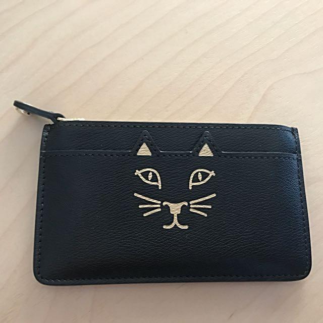 Charlotte Olympia Feline Coin Purse Cardholder