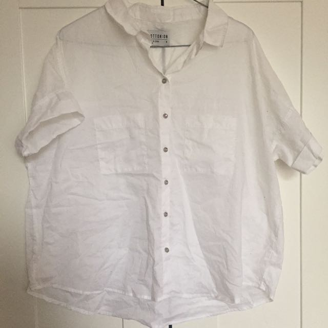 [cotton on] white shirt
