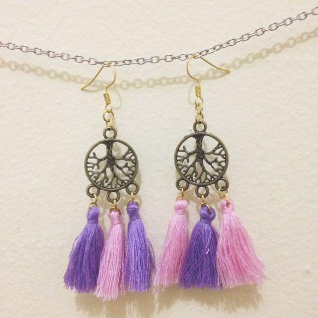 cute tassels earrings