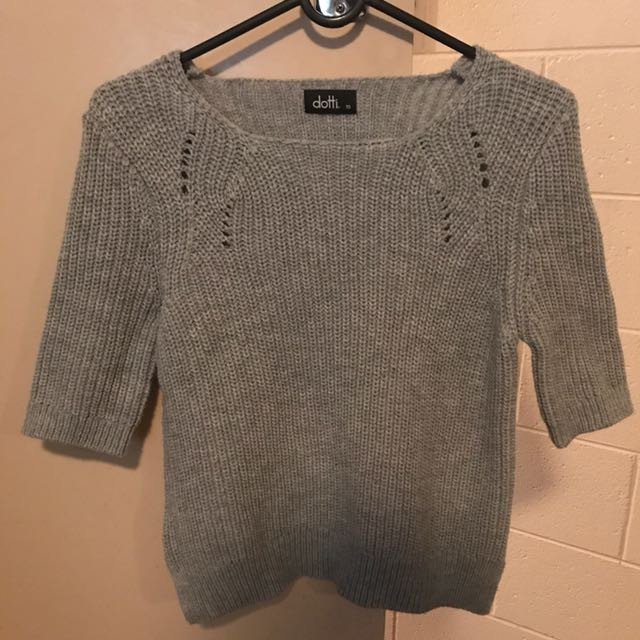 Dotti Grey Knit Size XS