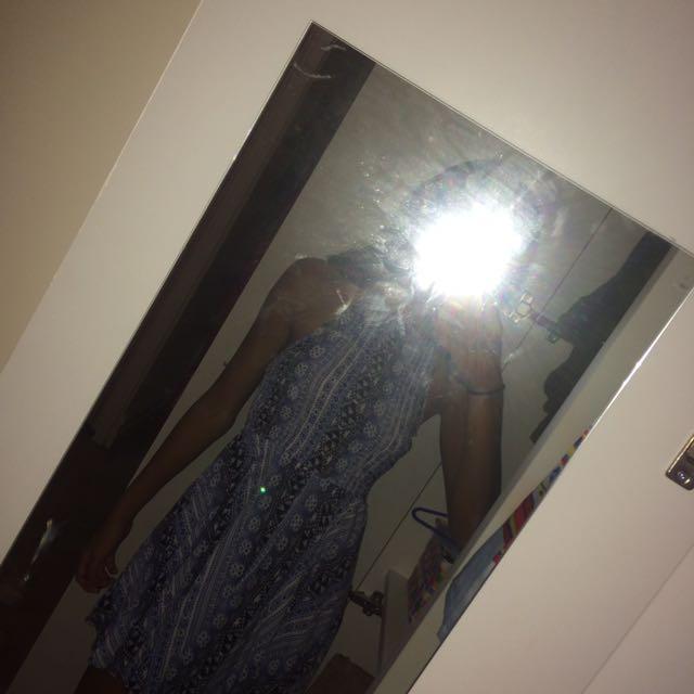 Dress - Halter Neck