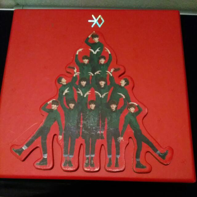 """EXO Mini Album """"Miracle In December"""" C-version"""