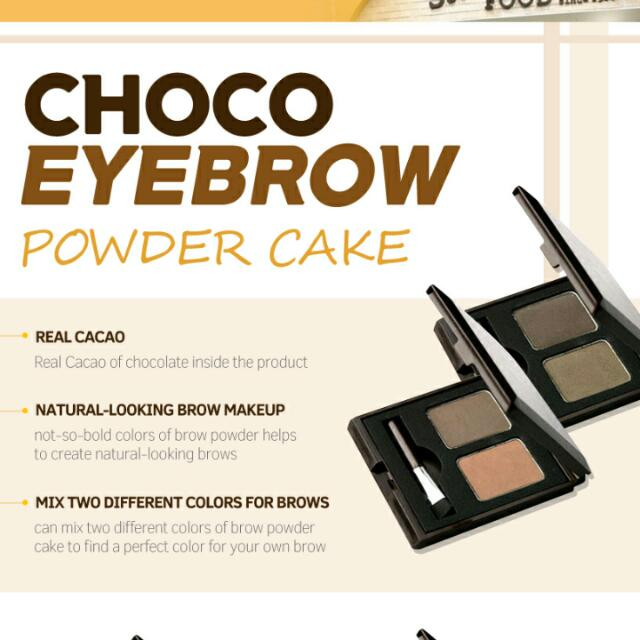 Eyebrow Powder Cake Skin Food