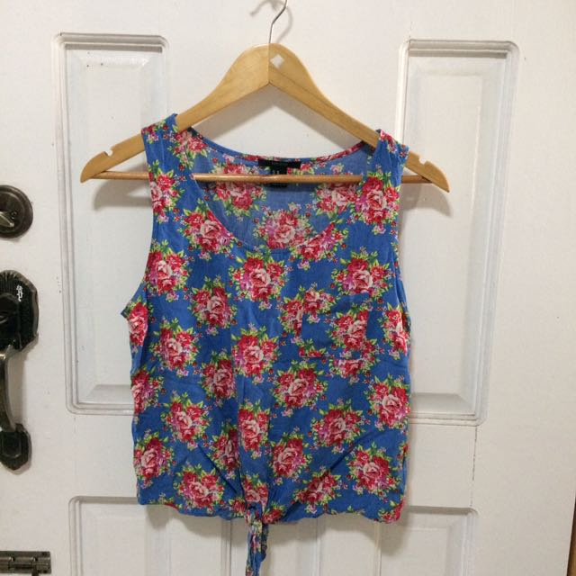 F21 Floral Top