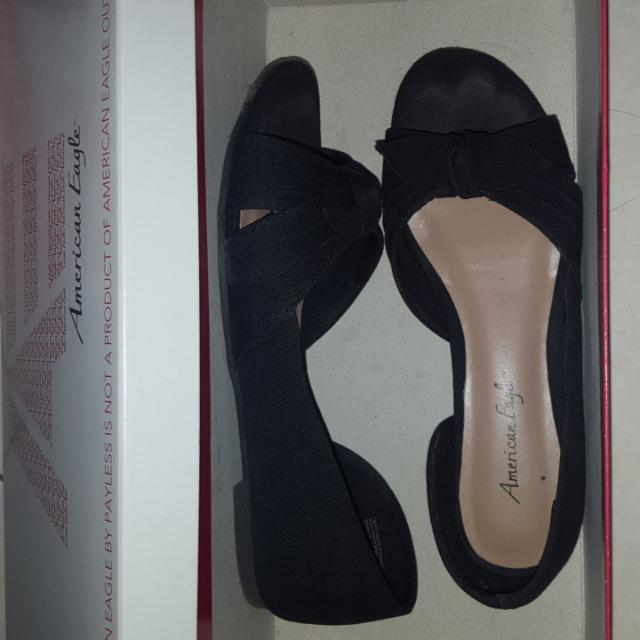 Payless Flat shoes American Eagle Black