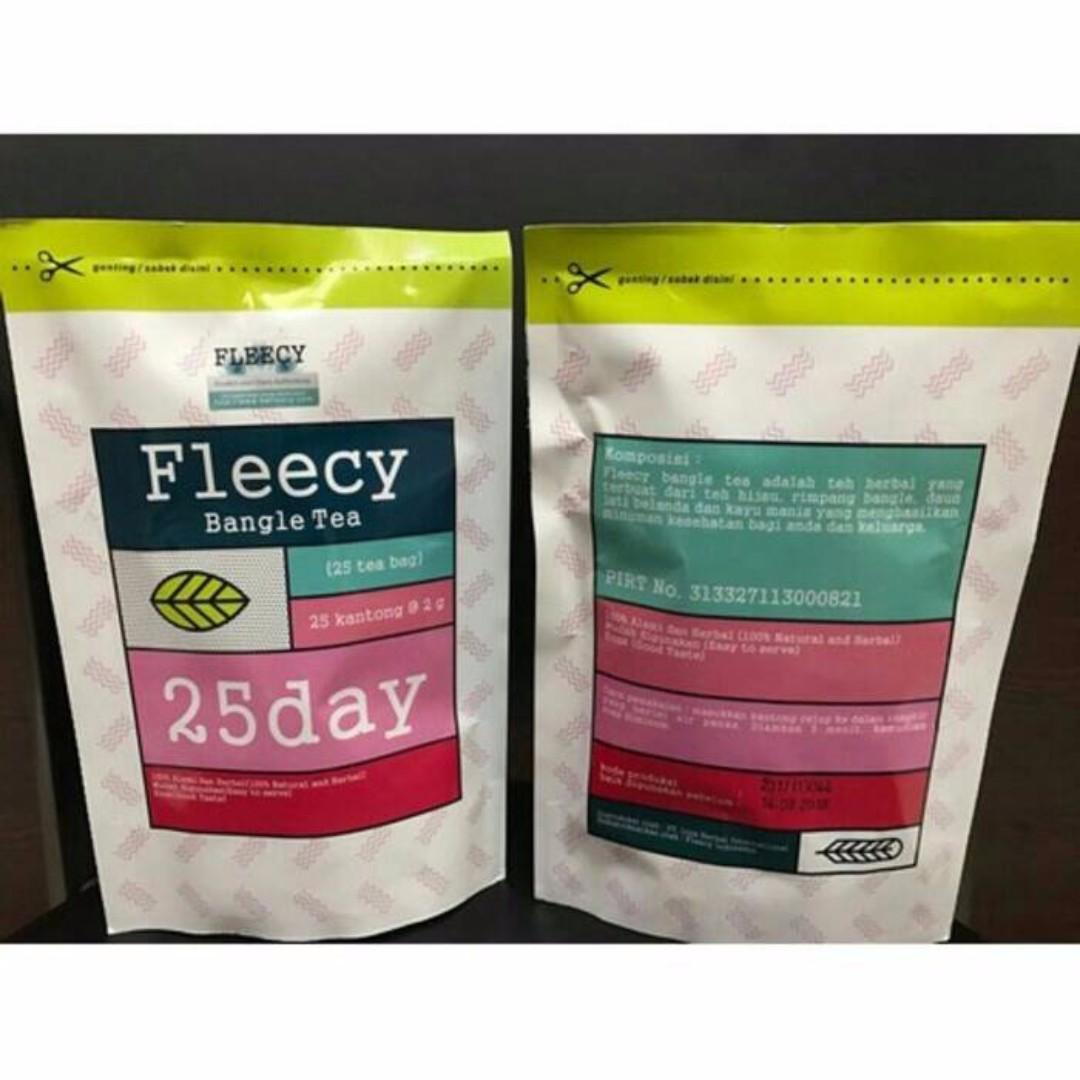 Fleecy Bangle Tea - Herbal Slimming Tea