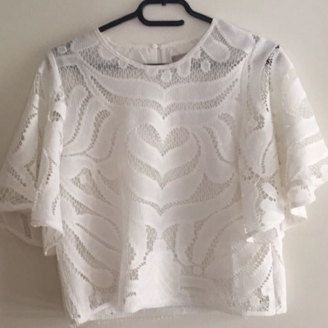 Forecast Top- White
