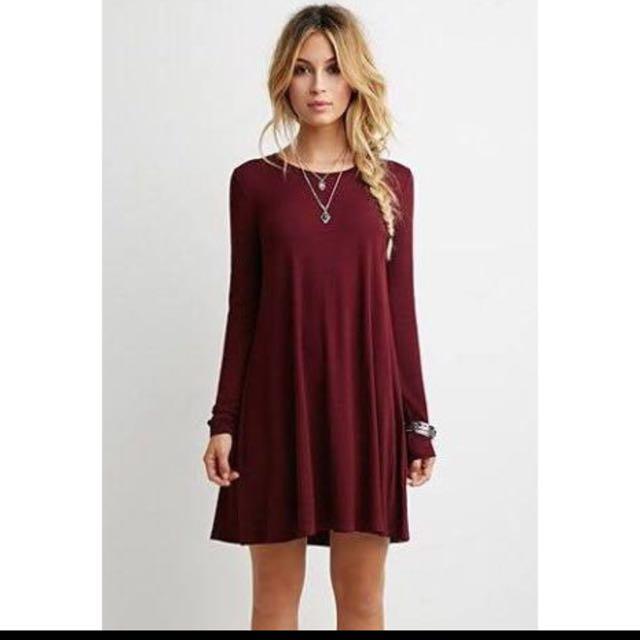 02bb28b6b29c Forever 21 Longsleeve dress