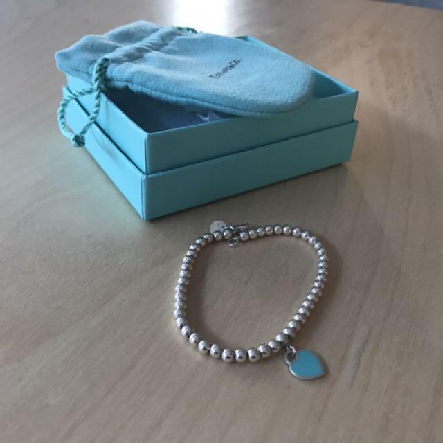 Genuine Return to Tiffany Bracelet