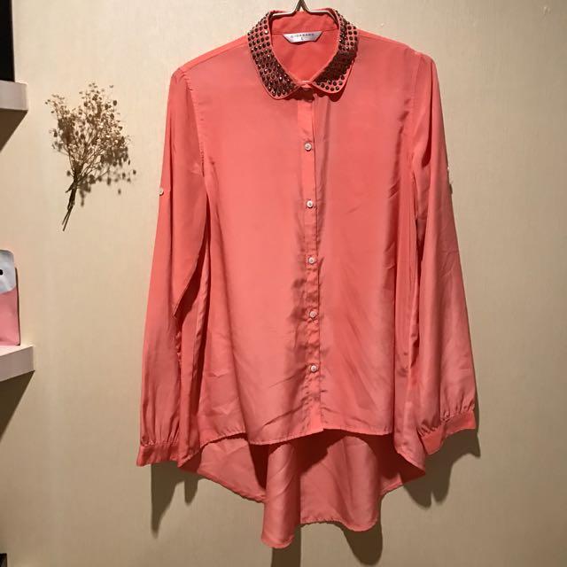Giordano Studded Collar Shirt