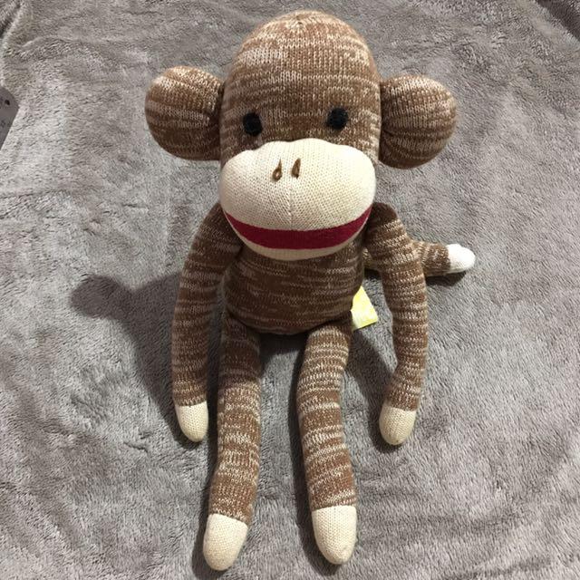 To Bless Gymboree Sock Monkey Plush Babies Kids Toys Walkers