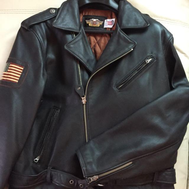 Harley Davidson Leather Jacket - Men