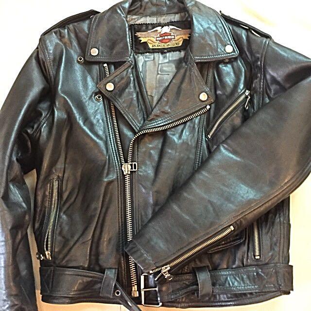 Harley Davidson Leather Jacket - Women