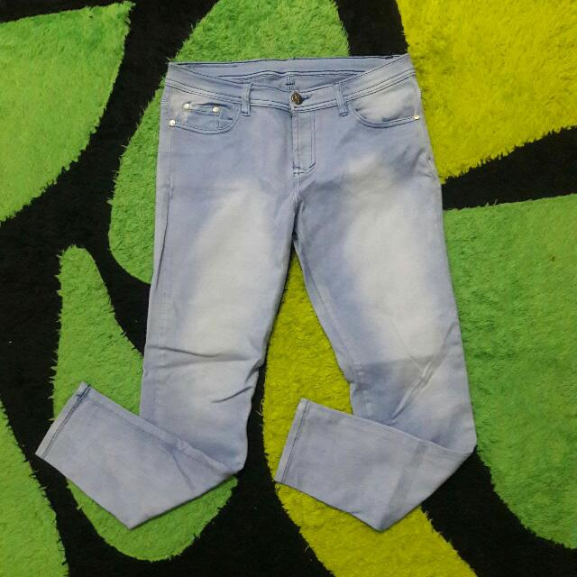 Hermes Light Blue Jeans