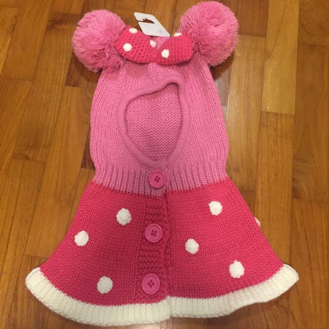 HK Minnie knit hat scarf