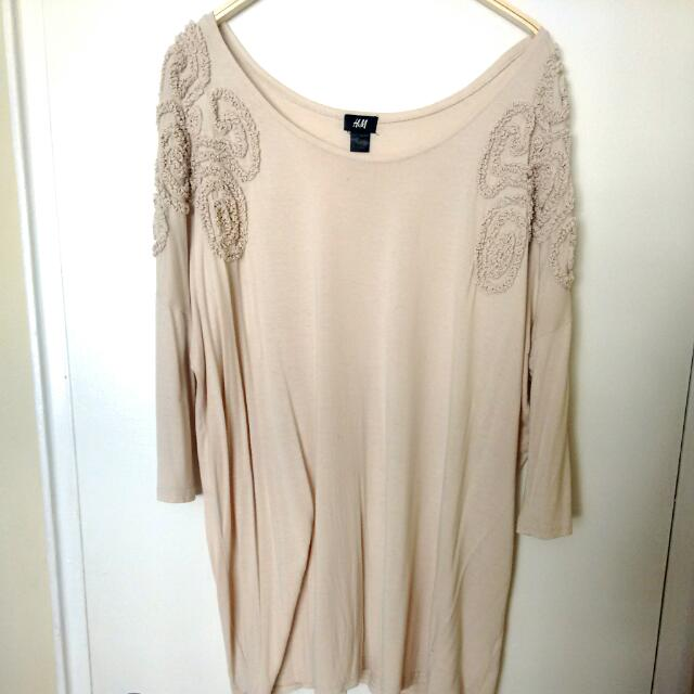H&M Oversized Tunic Top