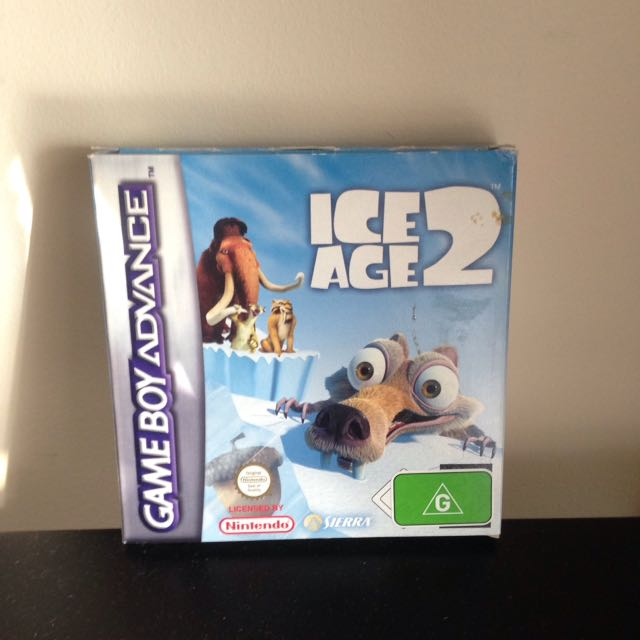 Ice Age 2 For Game Boy Advance
