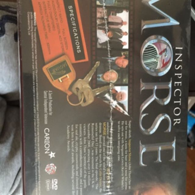 Inspector Morse 16disc Brans New unwanted gift.