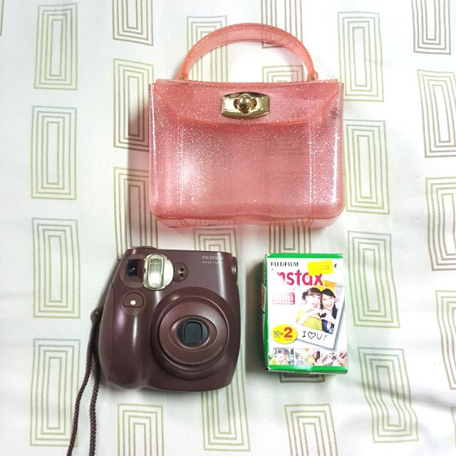 Instax Mini 7s Chocolate
