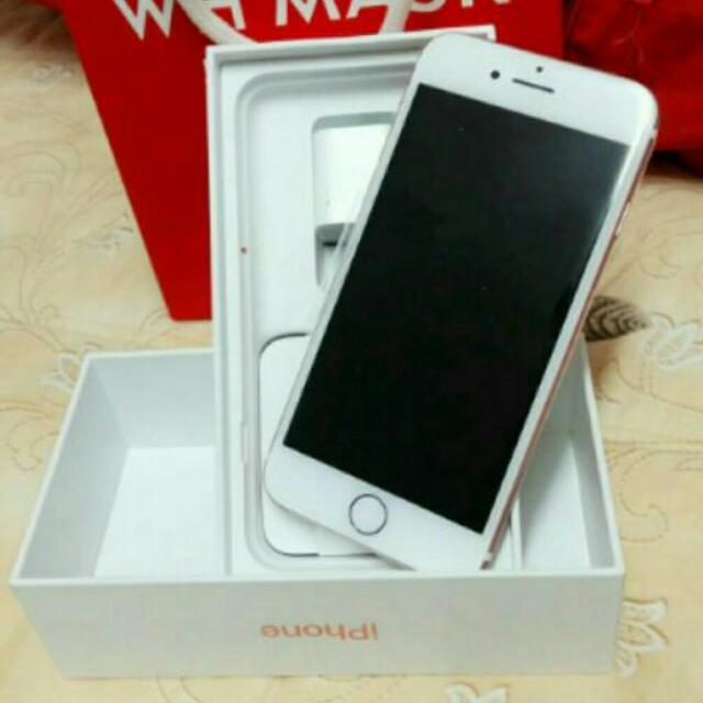 iphone 7   4.7   32G玫瑰金