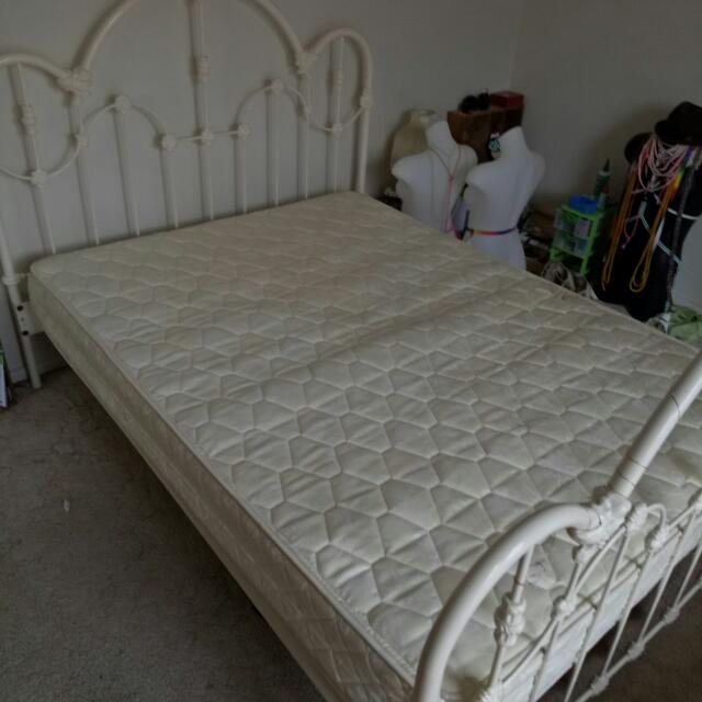 Iron Vintage Double Bed