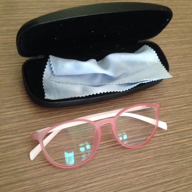 Kacamata Mines Warna Pink