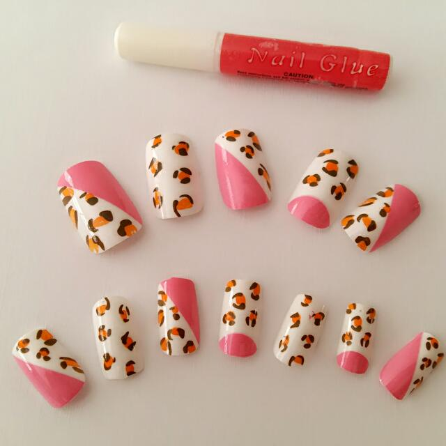 Kuku Palsu Motif A50 / Fake Nails