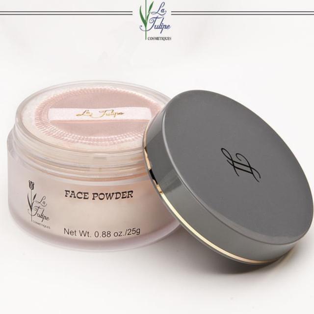 La Tulipe Face Powder 2pc (Rachel&Suntan)