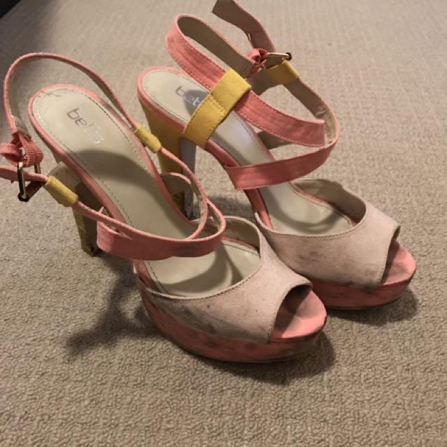 Ladies Coloured High Heels