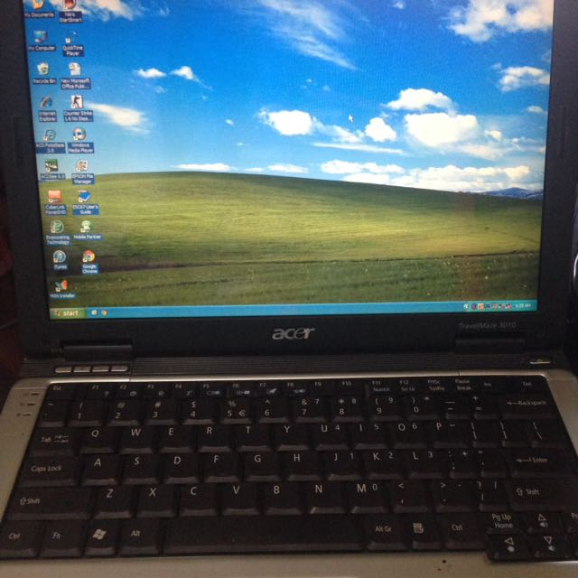 Laptop Acer Travel Mate 3010