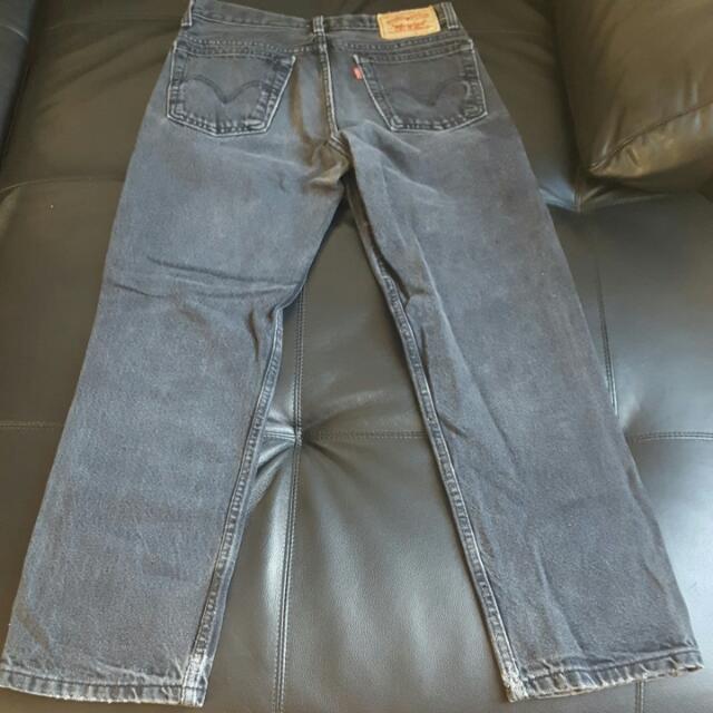 Levis Jeans Vintage Charcoal