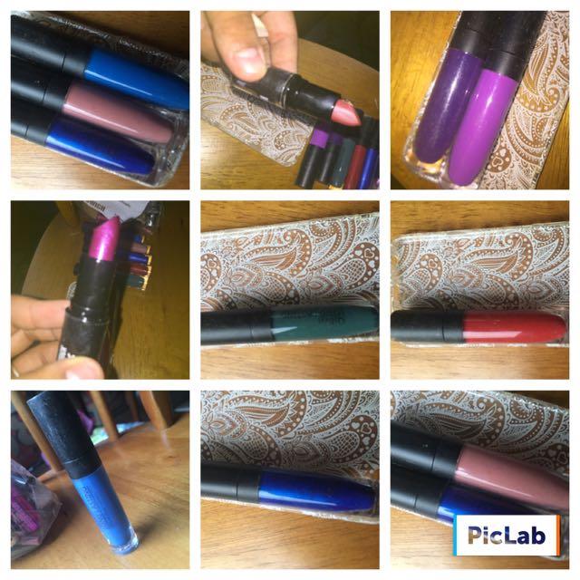 Lipgloss + 1x Mac Lipstick