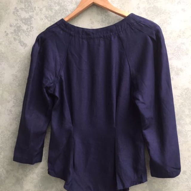 Lover The Label Navy Bodice Top