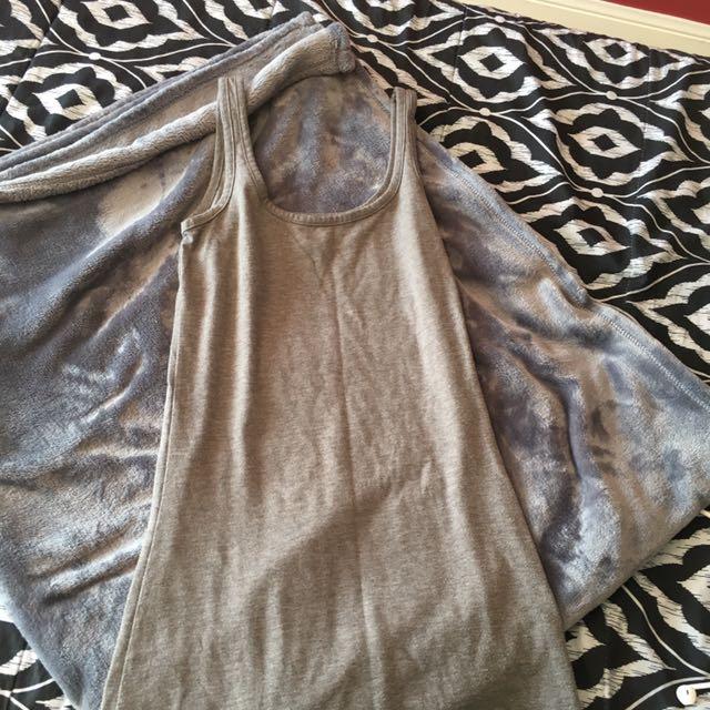 M by Mendocino grey Maxi dress