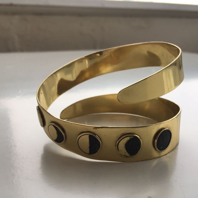 ManiaMania Brass Cuff