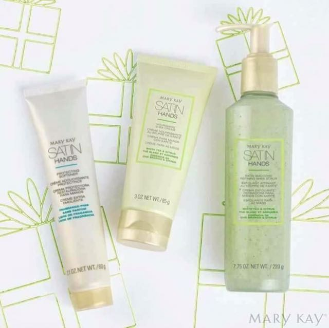 MaryKay. SATIN HANDS PAMPERING SET