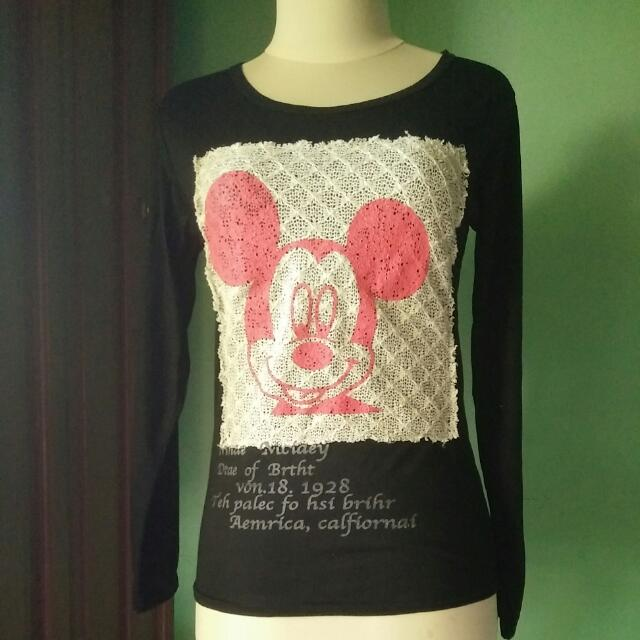 Mickey Blouse