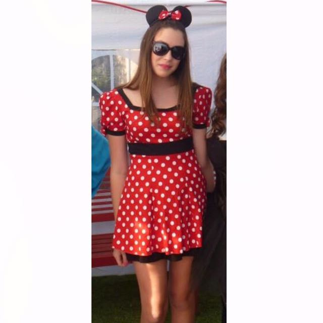Minnie Mouse Costune