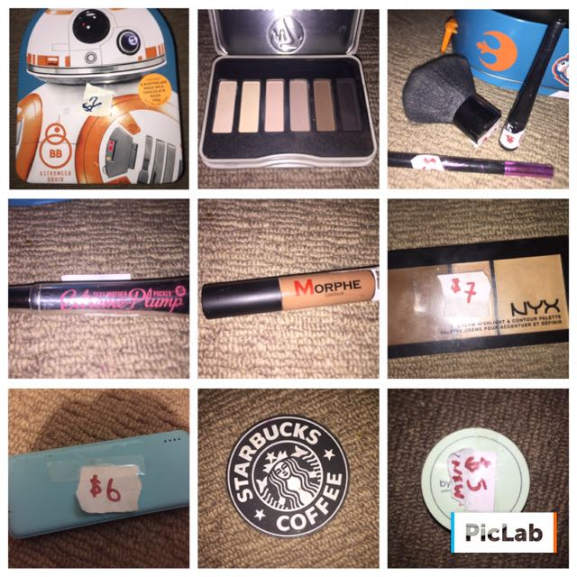 Mostly Makeup Items