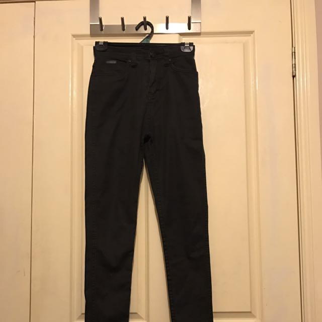 Nana Judy High Waist Black Jeans Size 9
