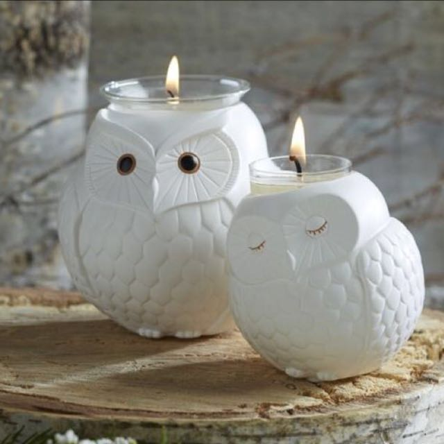 ONLY Baby Candle Holder- Owl