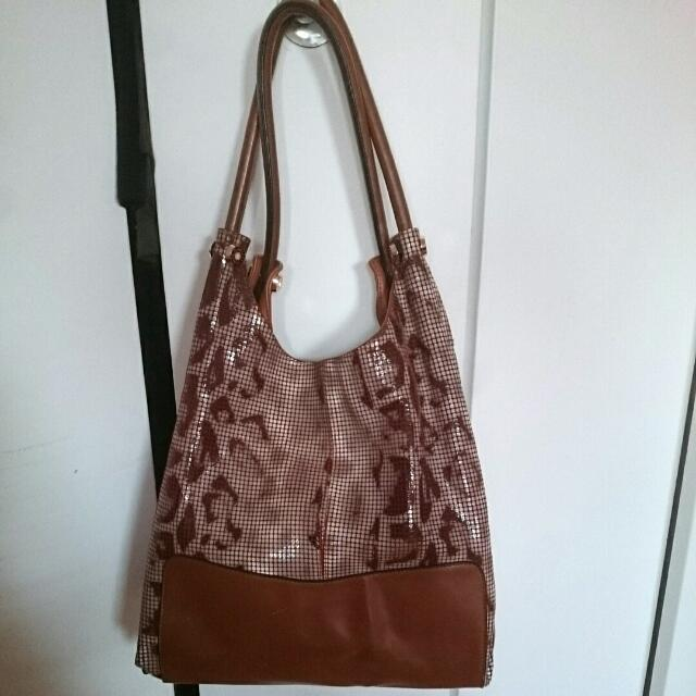 New Fabbiano Genuine Leather Bag