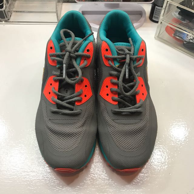 Nike Air Max (Gray, Teal & Orange)