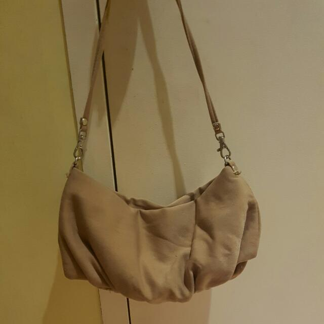 Nude Shoulder Bag
