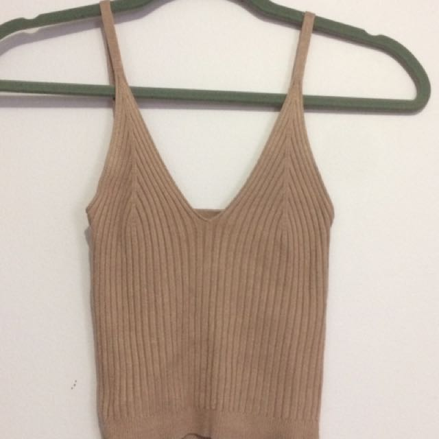 NWT Urban Behaviour Knit Tank Top