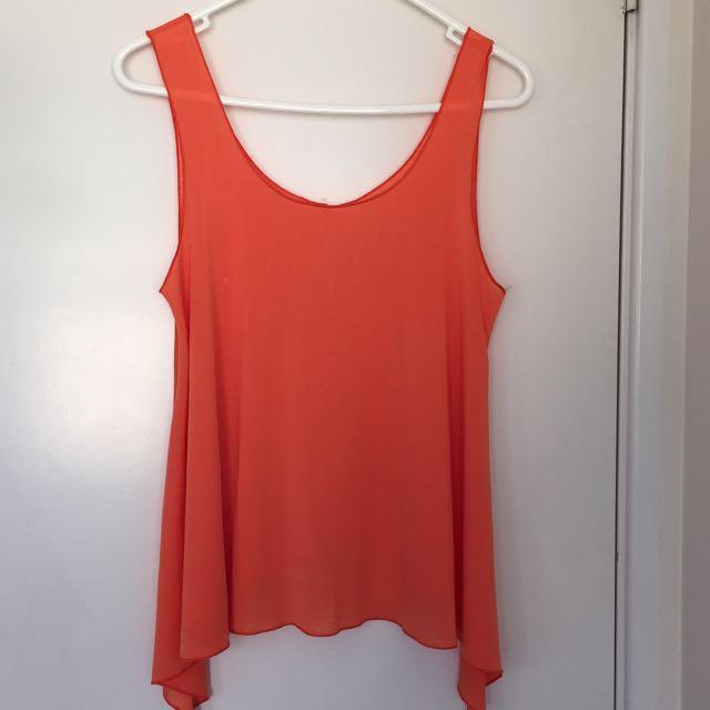 Orange Supre Asymmetric