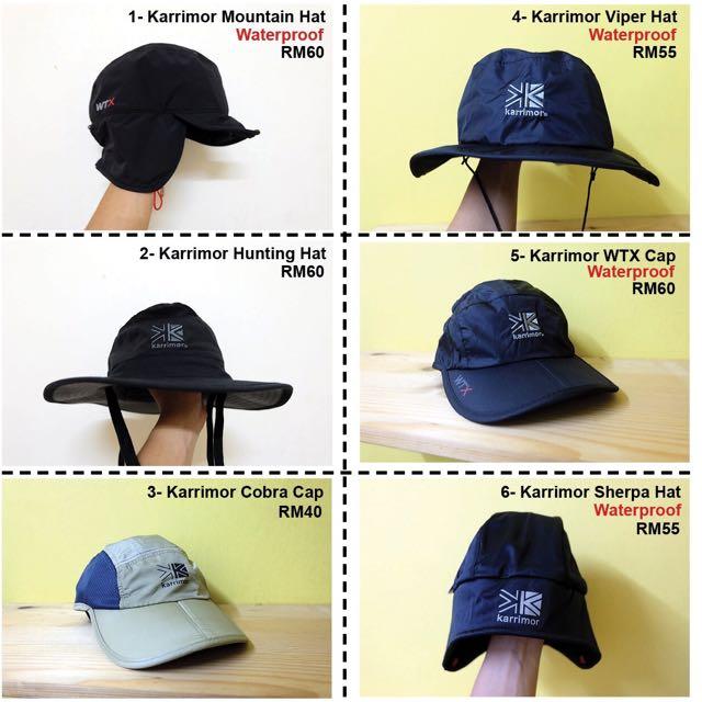 Original Karrimor Hat   Cap ed50451b82