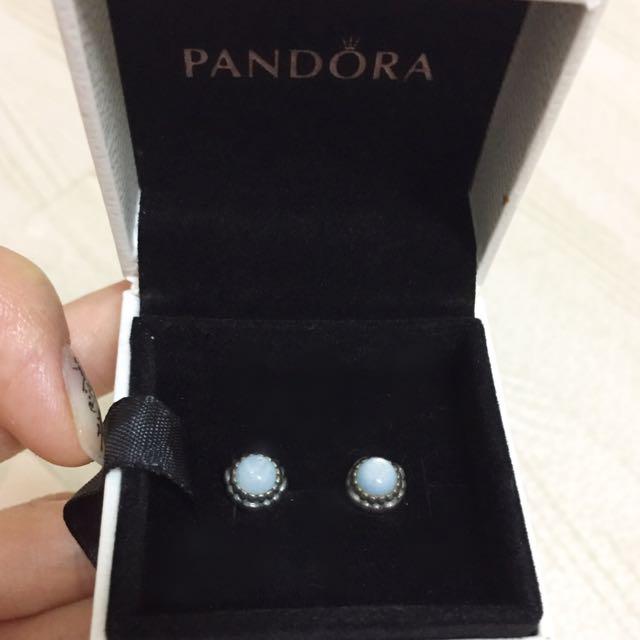PANDORA 耳環